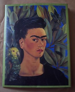 Custom Order Frida Kahlo Book Jacket Wallet