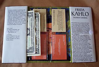 Frida Kahlo Wallet Open