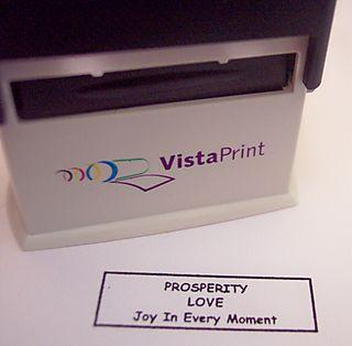 Wallet Stamp