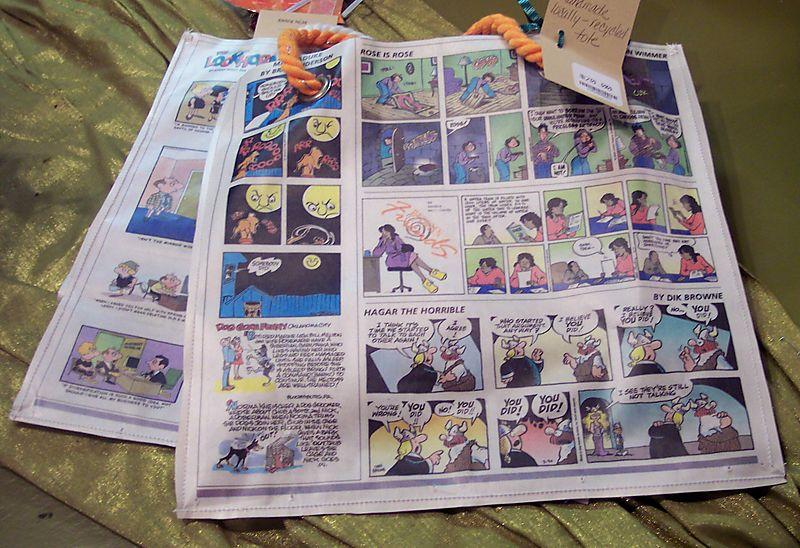 Newspaper Totes