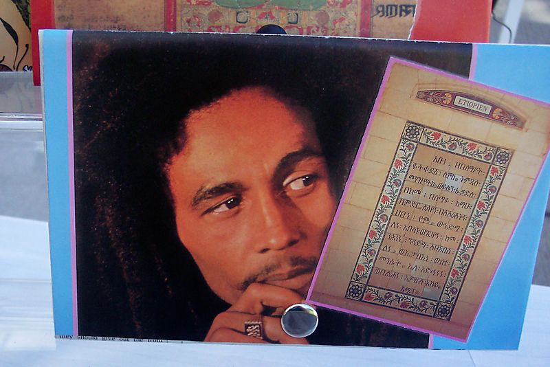 Bob Marley & Rastfarian Prayer Collage Wallet
