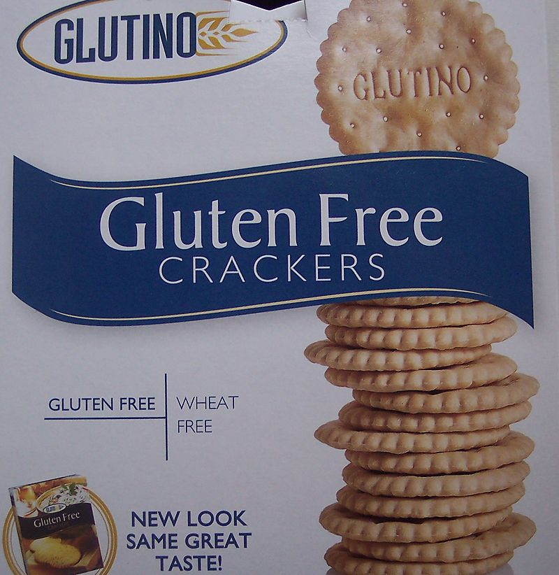 Glutino crackers