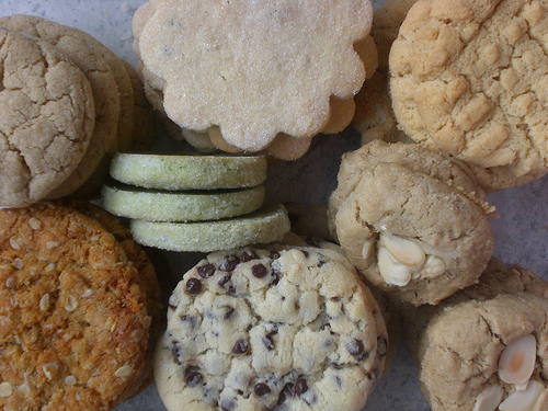 Cookies at unpackaged in london