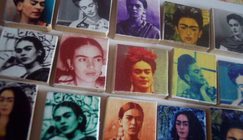 Many Faces Of Frida
