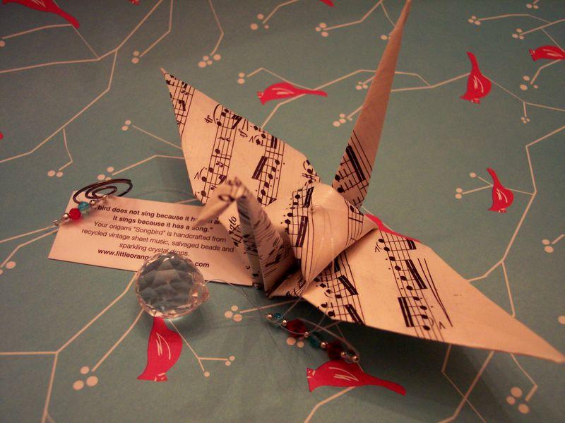 Origami Songbird