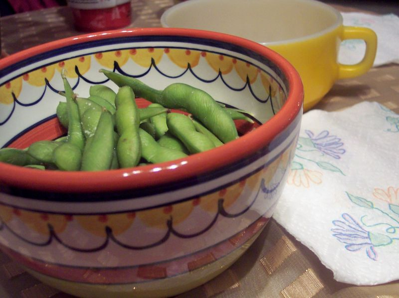 Dining At Kelly Robe's House-Edamame