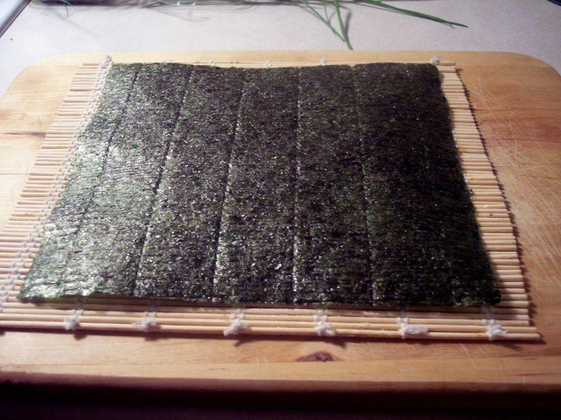 Sushi Step 1
