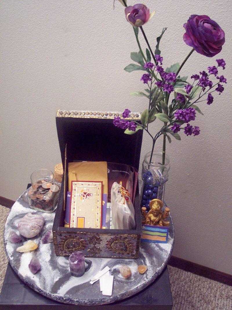 Reiki Room Altar