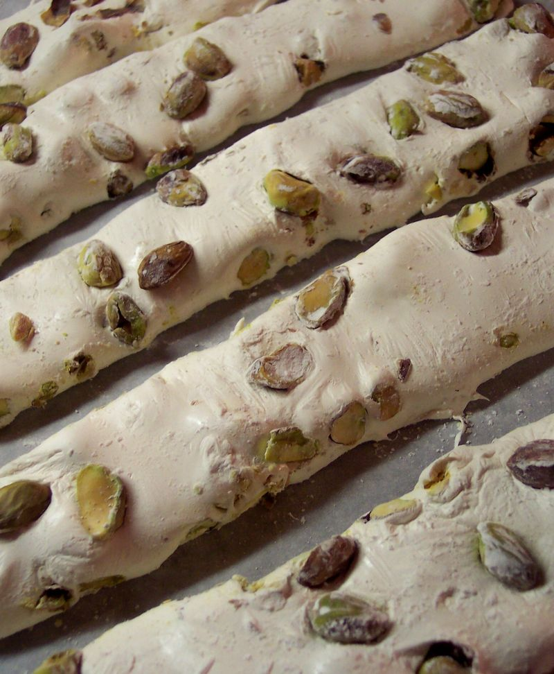 Persian Pistachio And Roswater Candy (Gaz)