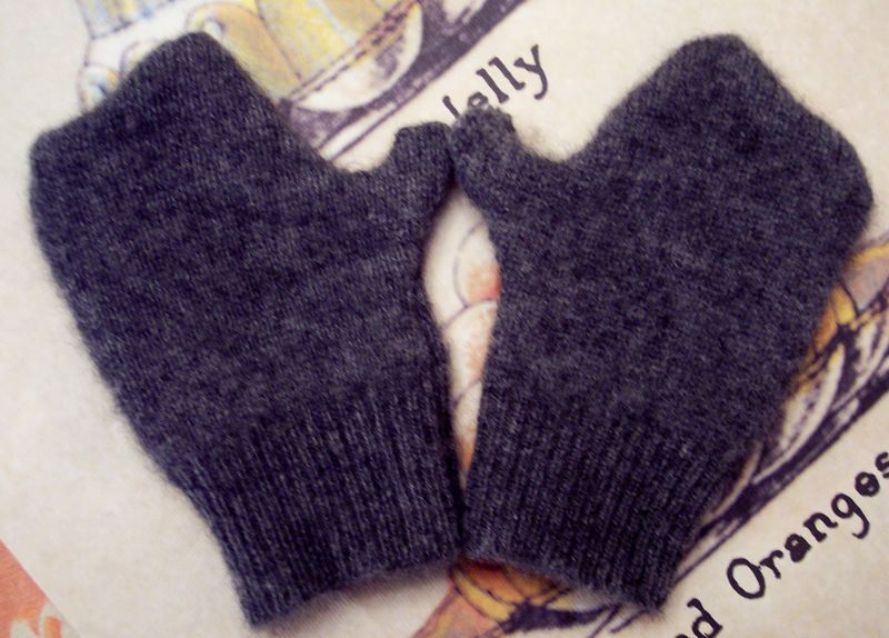 Handmade Holiday Cashmere Mittens For Baby Kyle