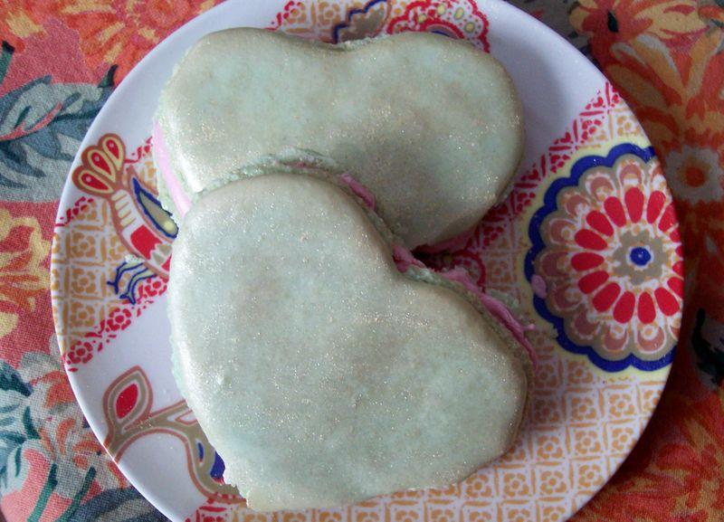 Heart Chakra Macarons