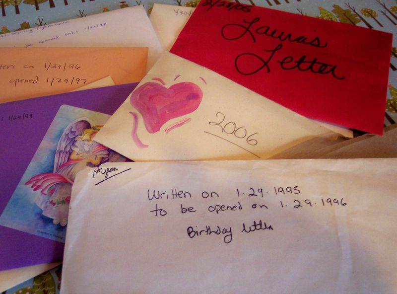 Birthday Letters To Me