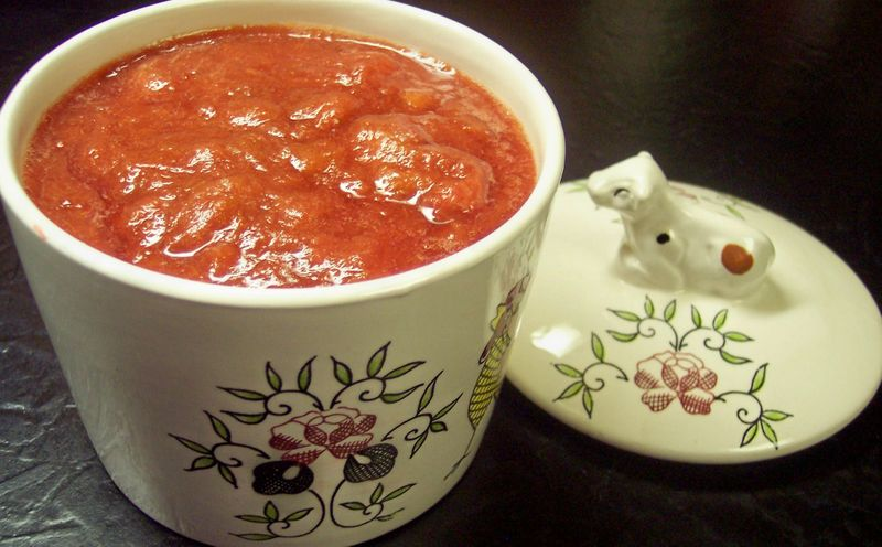 Strawberry Rhubarb Compote 2
