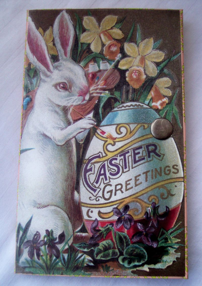 Easter card wallet