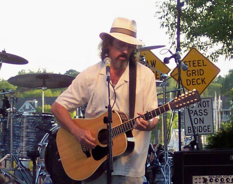 James McMurtry Steel Bridge Songfest 5 in Sturgeon Bay June 13 2009. 7