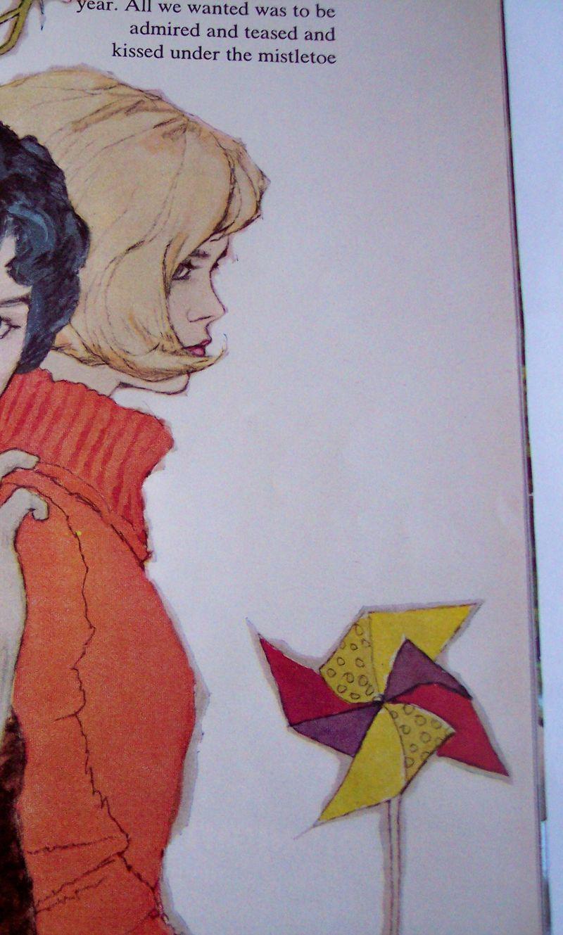 1961 McCalls pinwheel