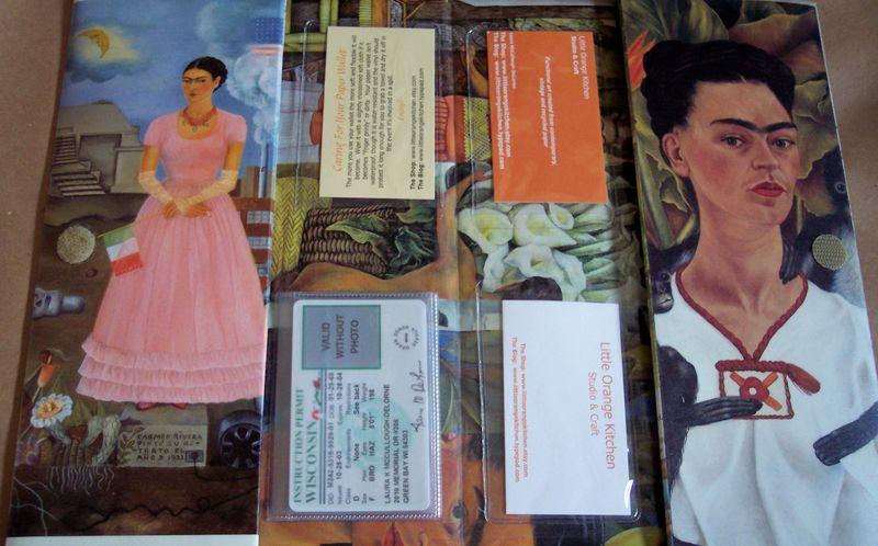 Frida Wallet Upcycled Calendar 2
