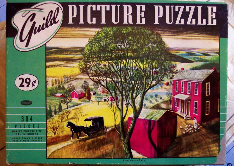Guild vintage puzzle