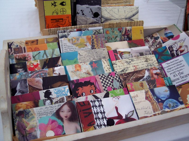 Upcycled cardcases 1
