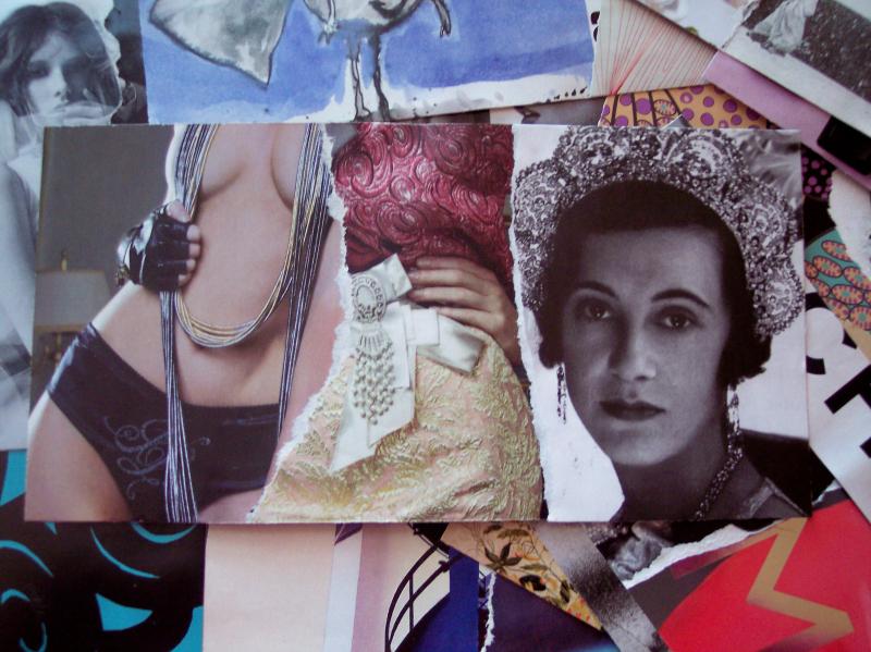 Wallet panels tiara