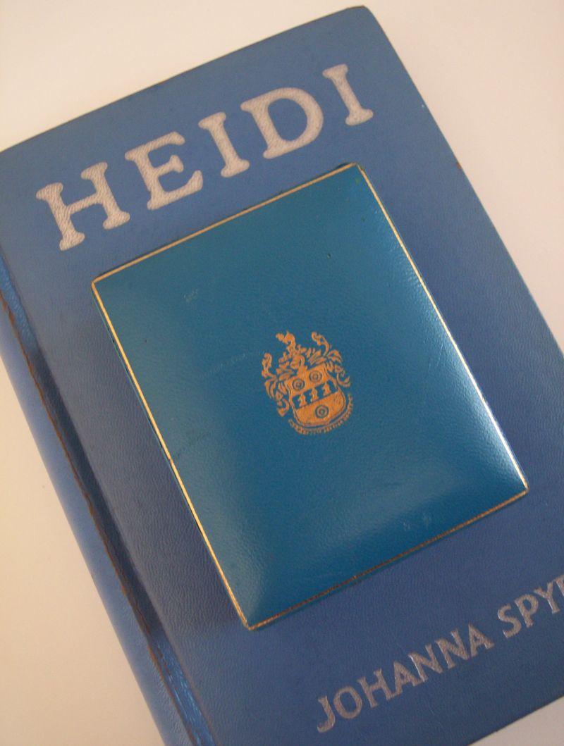 Vintage Heidi book
