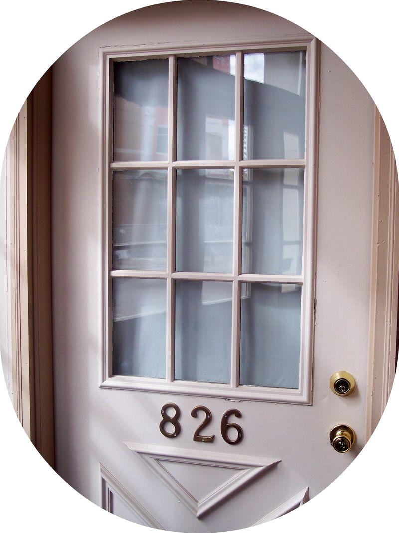 Studio door round