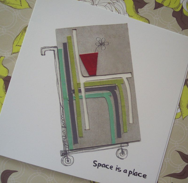 Space is a place card