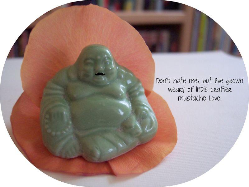 Buddha mustache