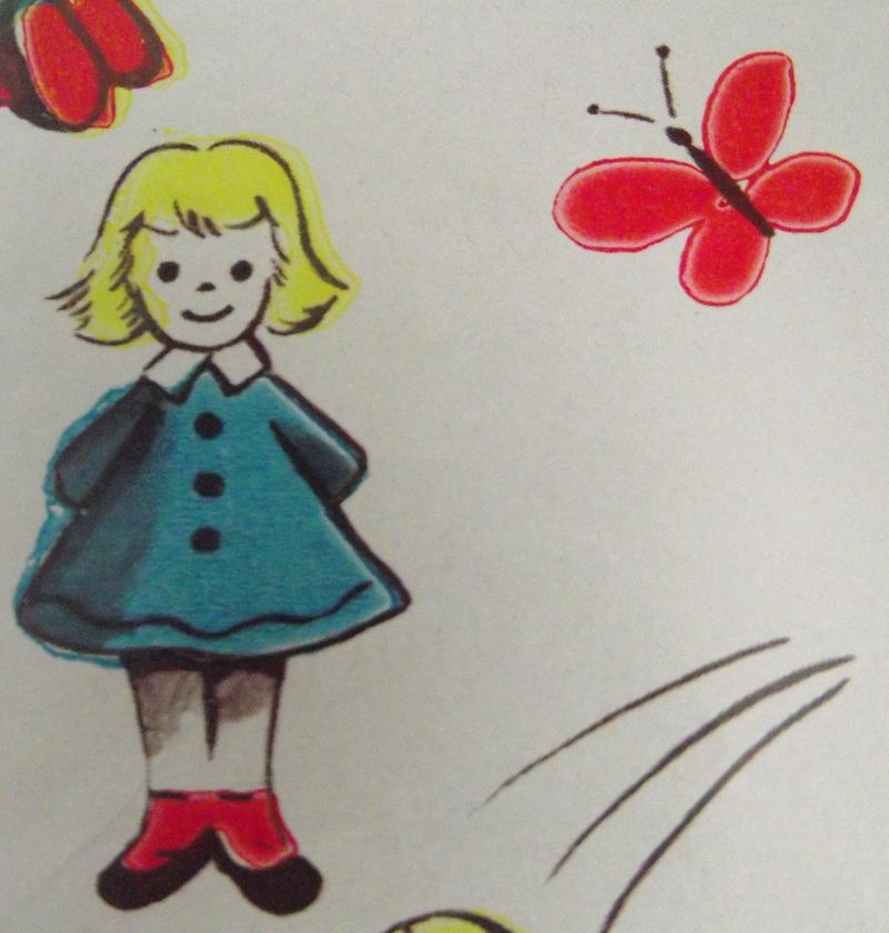 Little thing with butterfly!